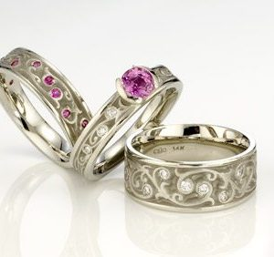 Artistic Pink Sapphire