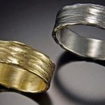 Passion Textured Rings for a Couple