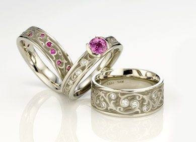 Artistic Pink Sapphire