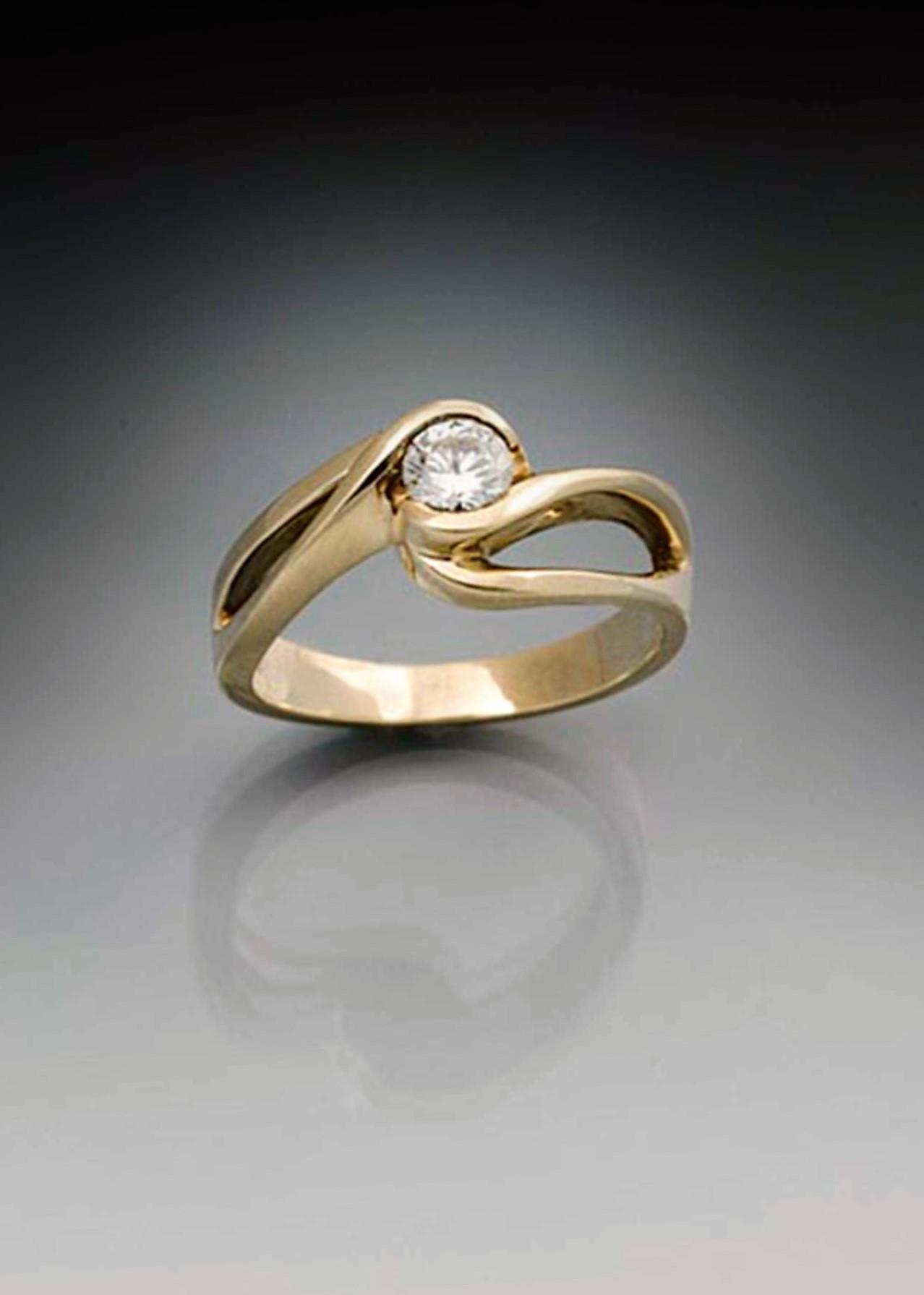 Diamond Eternity Rings Gold