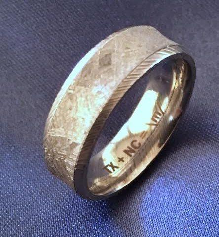 Meteorite Damascus Concave